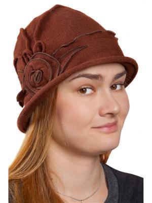 Шляпа женская Мона Three S. Цвет: коричневый