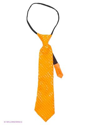 Маскарадный галстук Magic Home. Цвет: оранжевый