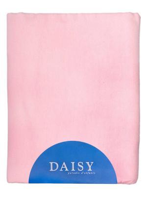 Пелёнка фланель с начёсом 90х120 DAISY. Цвет: розовый