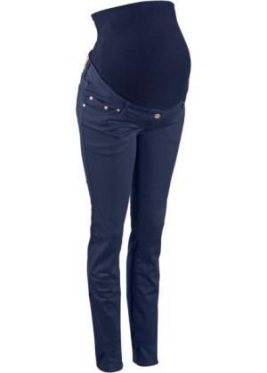 Мода для беременных: джинсы-скинни (темно-синий) bonprix. Цвет: темно-синий