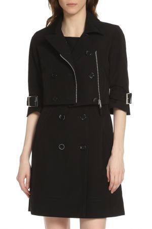 Двойка: платье и пиджак Liu Jo. Цвет: черный