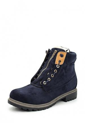 Ботинки Mellisa. Цвет: синий