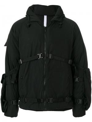 Куртка-пуховик с капюшоном Cottweiler. Цвет: чёрный