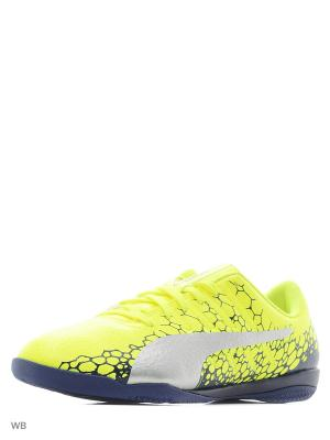 Бутсы evoPOWER Vigor 4 GRAPHIC IT PUMA. Цвет: желтый