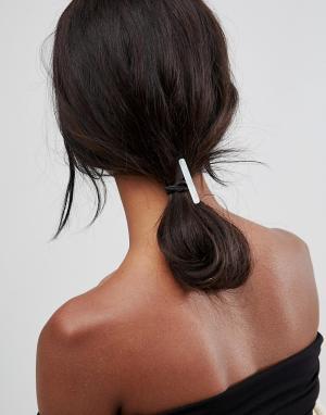 ASOS Резинка для волос. Цвет: белый
