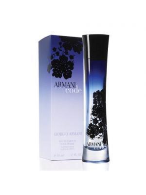 Code Women edp 50 ml Armani. Цвет: темно-синий