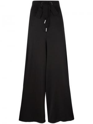 Широкие брюки палаццо Marquesalmeida Marques'almeida. Цвет: чёрный