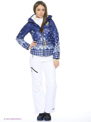 Куртка Stayer. Цвет: белый, синий, золотистый