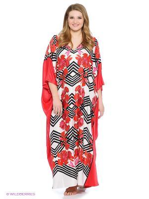 Платье - туника Natori. Цвет: розовый, фиолетовый