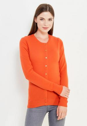 Кардиган United Colors of Benetton. Цвет: оранжевый