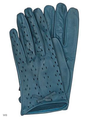 Перчатки MERCEDES-BENZ. Цвет: морская волна