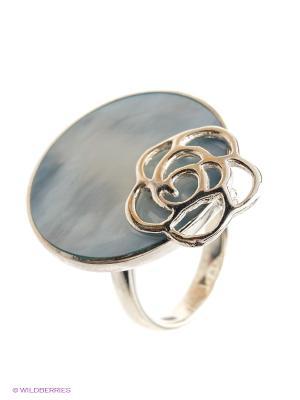 Кольцо BALEX. Цвет: серебристый, голубой
