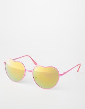 Trip Солнцезащитные очки. Цвет: розовый
