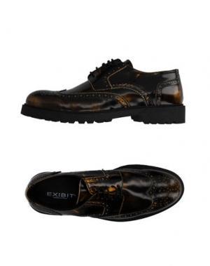 Обувь на шнурках EXIBIT. Цвет: стальной серый