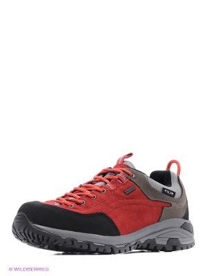 Ботинки EDITEX. Цвет: черный, бежевый, красный
