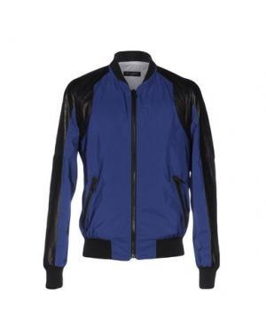 Куртка YES LONDON. Цвет: синий