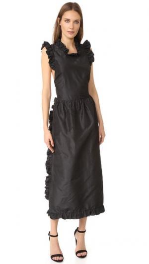 Макси-платье Wilam Jill Stuart. Цвет: нуар
