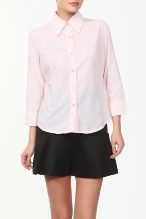 Блузка CROSS JEANS. Цвет: розовый