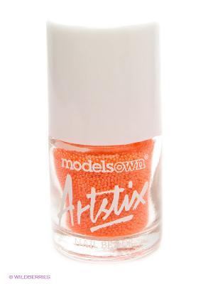 Шарики для ногтей, Neon Orange Models Own. Цвет: оранжевый