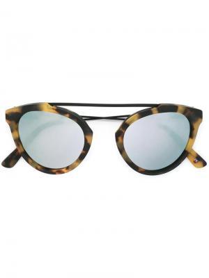 Солнцезащитные очки Flower Westward Leaning. Цвет: телесный