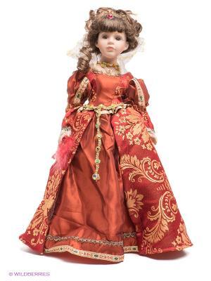 Кукла фарфоровая Виталия Lisa Jane. Цвет: бледно-розовый, бордовый