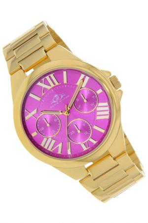 Watches Paris Hilton. Цвет: gold and fuchsia