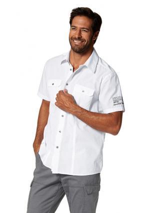 Рубашка MANS WORLD MAN'S. Цвет: темно-серый