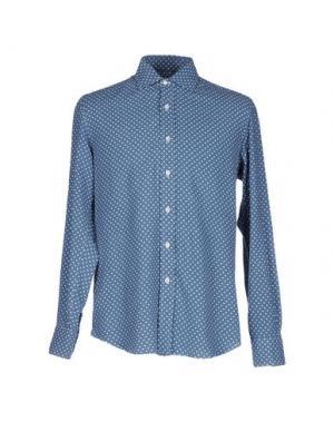 Pубашка SALVATORE PICCOLO. Цвет: пастельно-синий
