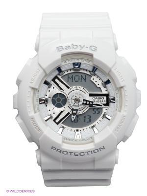 Часы Baby-G BA-110-7A3 CASIO. Цвет: белый