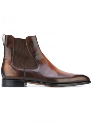 Ботинки Челси Berluti. Цвет: коричневый