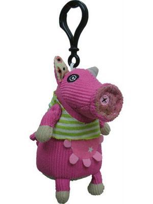 Игрушка Deglingos Свинка Jambonos - брелок. Цвет: розовый