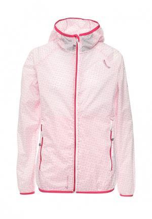 Ветровка Regatta. Цвет: розовый