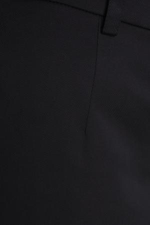 Хлопковые брюки с лампасами Sorry, i'm Not. Цвет: черный