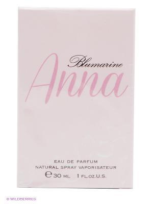 Туалетная вода ANNA, 30 мл BLUMARINE. Цвет: бледно-розовый