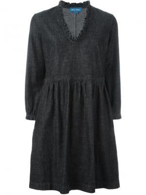 Платье Miller Mih Jeans. Цвет: чёрный