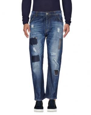 Джинсовые брюки YES LONDON. Цвет: синий