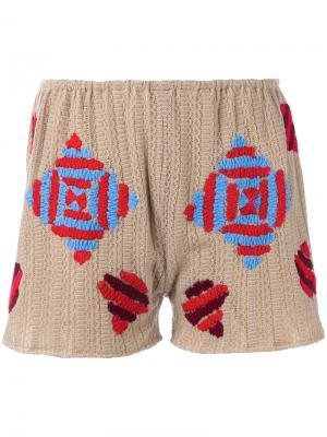 Bessa shorts All Things Mochi. Цвет: телесный