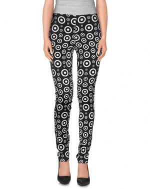 Повседневные брюки FAUSTO PUGLISI. Цвет: черный