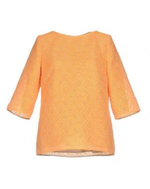 Блузка NATAN. Цвет: оранжевый