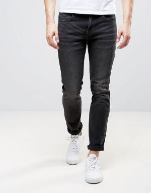 WESC Узкие серые джинсы Alessandro. Цвет: серый