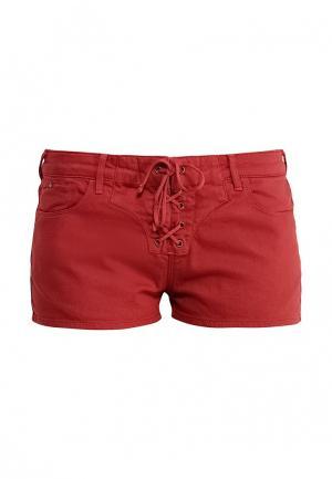Шорты джинсовые Scotch&Soda. Цвет: красный