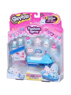 Игровой набор Шопкинс  Модная лихорадка Frosty Fashion Moose. Цвет: розовый