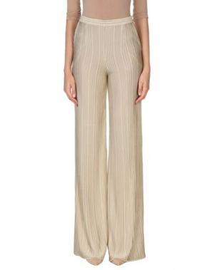 Повседневные брюки ES'TI. Цвет: бежевый