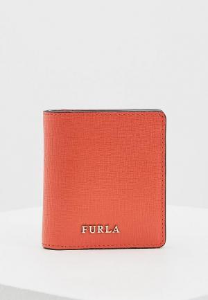 Кошелек Furla. Цвет: коралловый