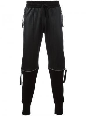Спортивные брюки Broad Blood Brother. Цвет: чёрный