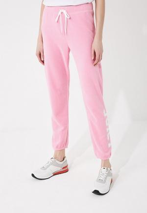 Брюки спортивные Juicy by Couture. Цвет: розовый