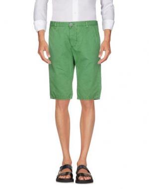 Бермуды DNM-BRAND. Цвет: зеленый