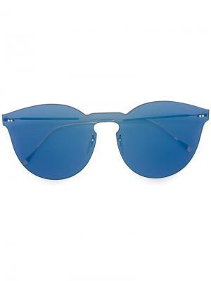 Солнцезащитные очки Leonard Mask Illesteva. Цвет: синий