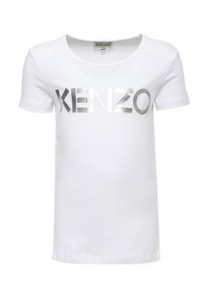 Футболка Kenzo. Цвет: белый