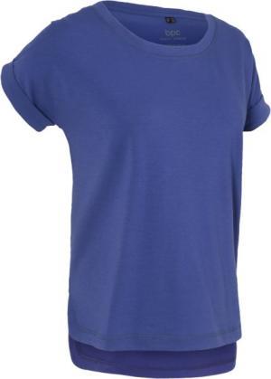 Спортивная футболка с коротким рукавом (сапфирно-синий) bonprix. Цвет: сапфирно-синий